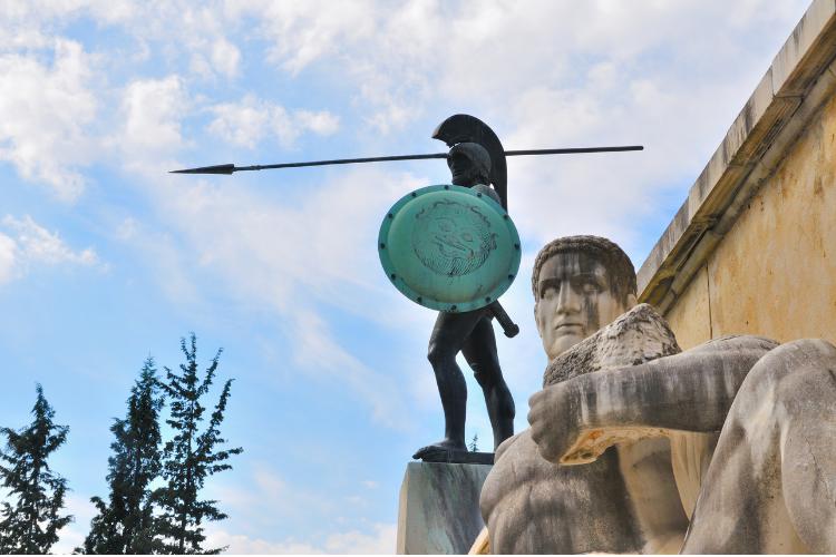 statue de leonidas